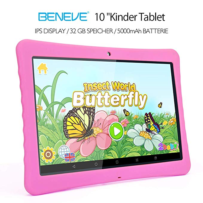 beneve 10 kinder tablet tablet pc test 2019. Black Bedroom Furniture Sets. Home Design Ideas
