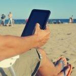Ebook Reader im Freien verwenden