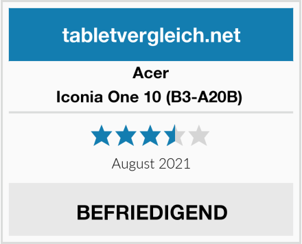 Acer Iconia One 10 (B3-A20B)  Test