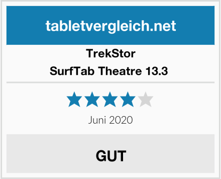 TrekStor SurfTab Theatre 13.3  Test