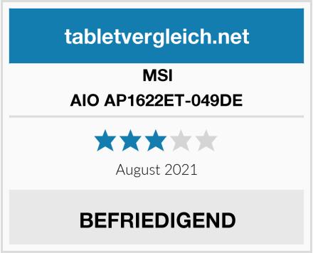 MSI AIO AP1622ET-049DE Test