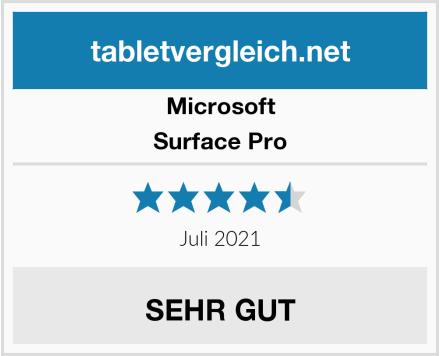 Microsoft Surface Pro  Test