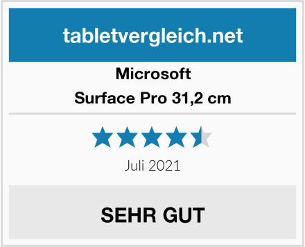 Microsoft Surface Pro 31,2 cm Test