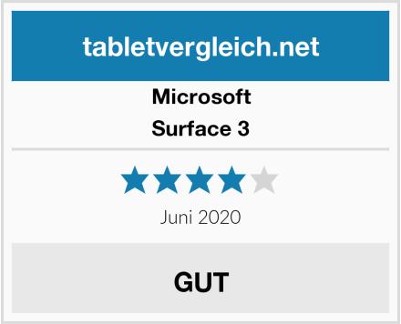 Microsoft Surface 3 Test