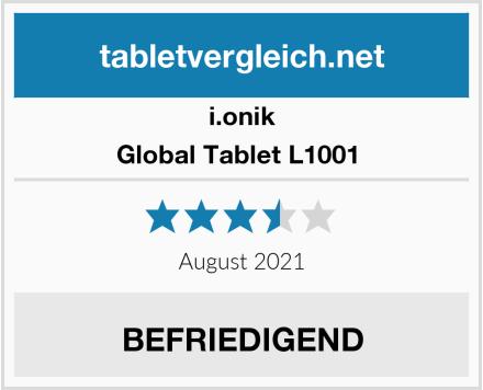 i.onik Global Tablet L1001  Test