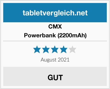 CMX Powerbank (2200mAh) Test