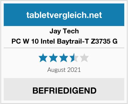 Jay Tech PC W 10 Intel Baytrail-T Z3735 G Test