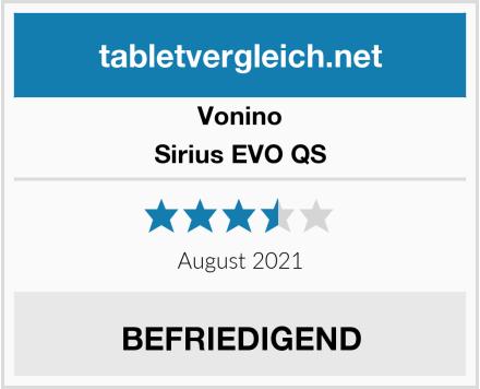 Vonino Sirius EVO QS Test
