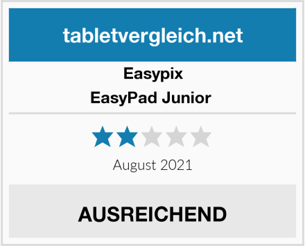 Easypix EasyPad Junior  Test