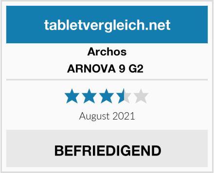 Archos ARNOVA 9 G2  Test