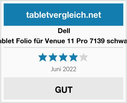 Dell Tablet Folio für Venue 11 Pro 7139 schwarz Test
