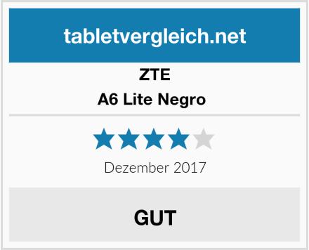ZTE A6 Lite Negro  Test