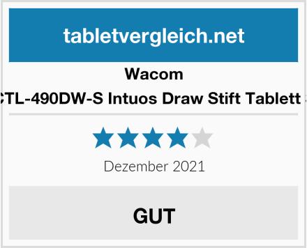 Wacom CTL-490DW-S Intuos Draw Stift Tablett S Test