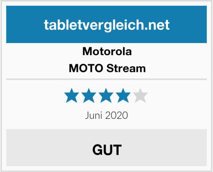 Motorola MOTO Stream Test