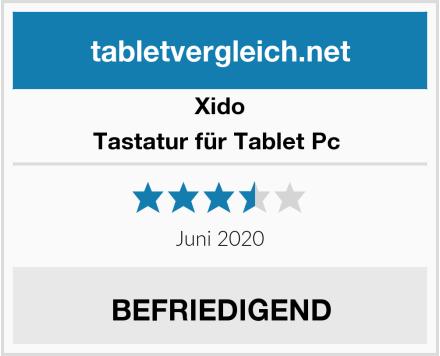 Xido Tastatur für Tablet Pc  Test