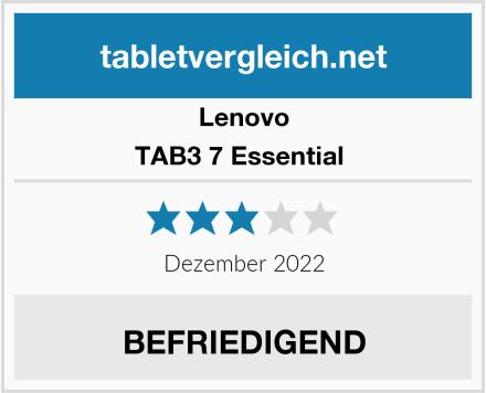 Lenovo TAB3 7 Essential  Test