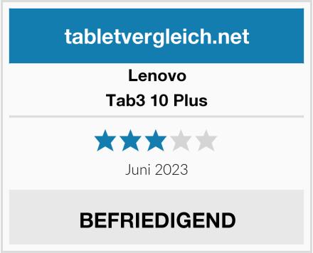 Lenovo Tab3 10 Plus Test