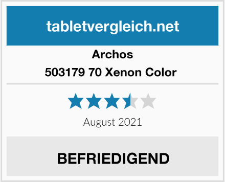 Archos 503179 70 Xenon Color  Test