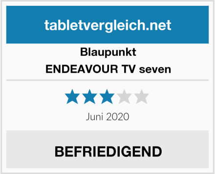 Blaupunkt ENDEAVOUR TV seven Test