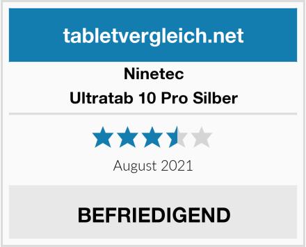 Ninetec Ultratab 10 Pro Silber Test