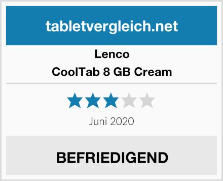 Lenco CoolTab 8 GB Cream Test