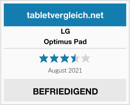 LG Optimus Pad Test