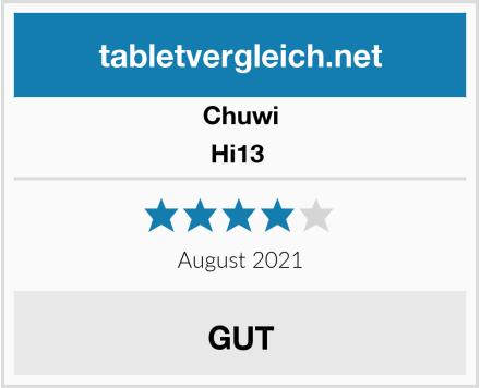 CHUWI Hi13  Test