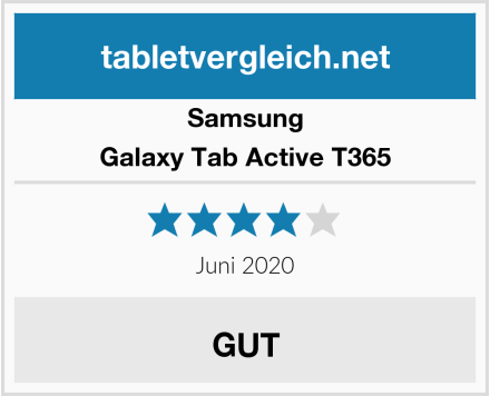 Samsung Galaxy Tab Active T365 Test