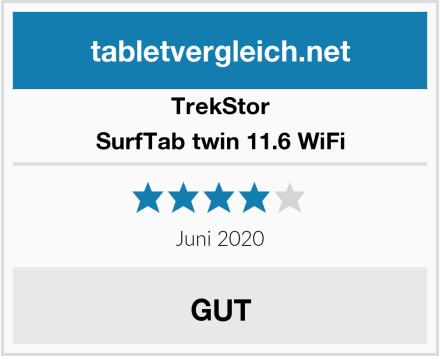 TrekStor SurfTab twin 11.6 WiFi Test
