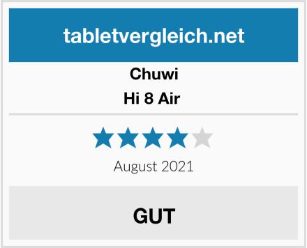 CHUWI Hi 8 Air  Test