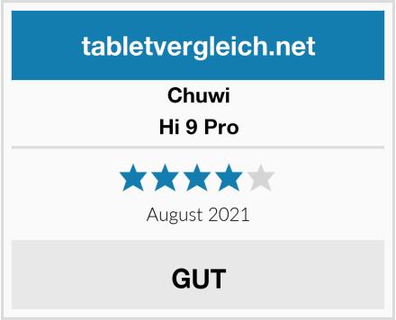 CHUWI Hi 9 Pro Test