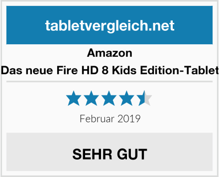 Amazon Das neue Fire HD 8 Kids Edition-Tablet Test