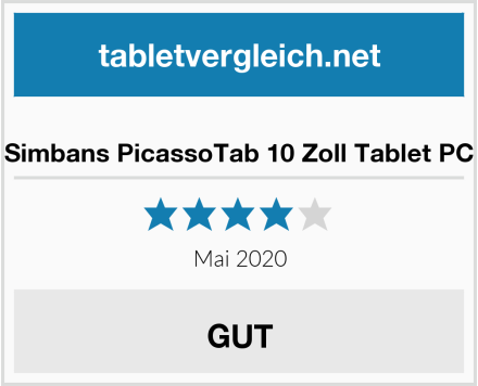 Simbans PicassoTab 10 Zoll Tablet PC Test