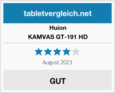 Huion KAMVAS GT-191 HD Test