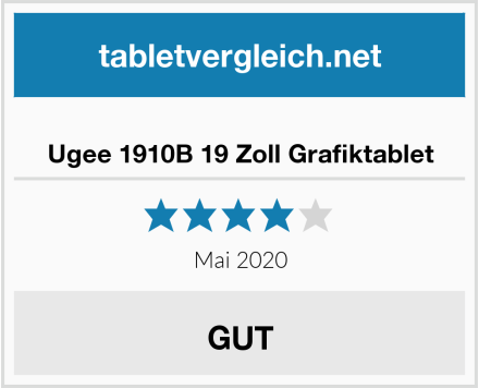 No Name Ugee 1910B 19 Zoll Grafiktablet Test
