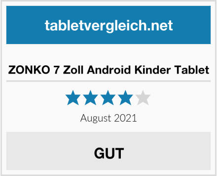 No Name ZONKO 7 Zoll Android Kinder Tablet Test