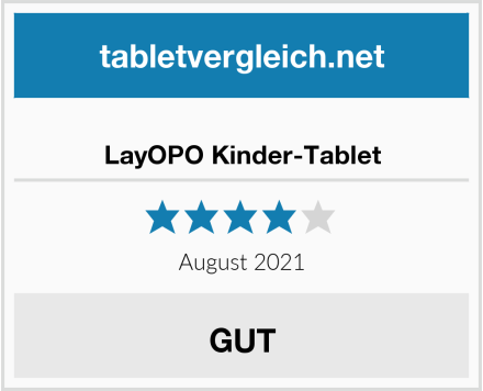 LayOPO Kinder-Tablet Test