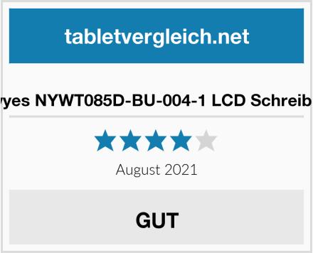 No Name Newyes NYWT085D-BU-004-1 LCD Schreibtafel Test