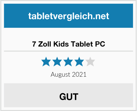 7 Zoll Kids Tablet PC Test