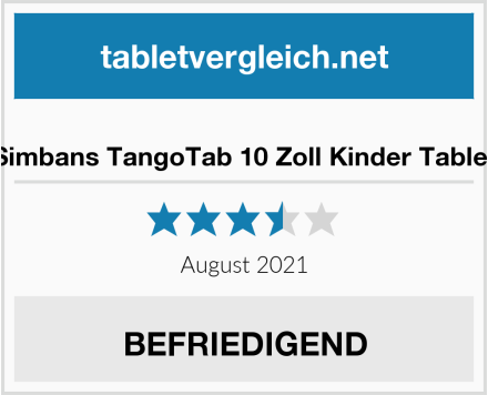 Simbans TangoTab 10 Zoll Kinder Tablet Test
