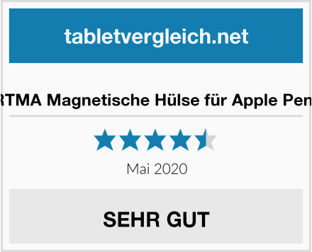 No Name FRTMA Magnetische Hülse für Apple Pencil Test
