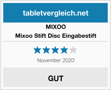 MIXOO Mixoo Stift Disc Eingabestift Test