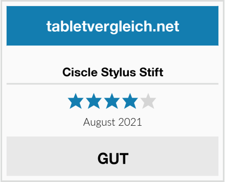 Ciscle Stylus Stift Test