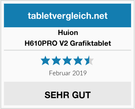 Huion H610PRO V2 Grafiktablet Test