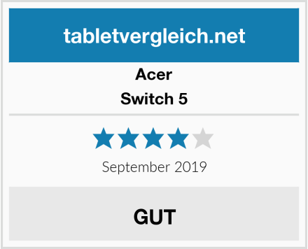 Acer Switch 5 Test