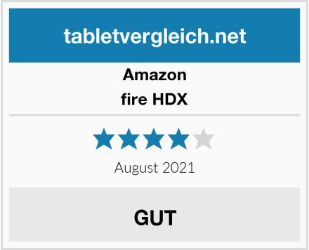 Amazon fire HDX Test