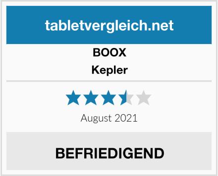 BOOX Kepler Test
