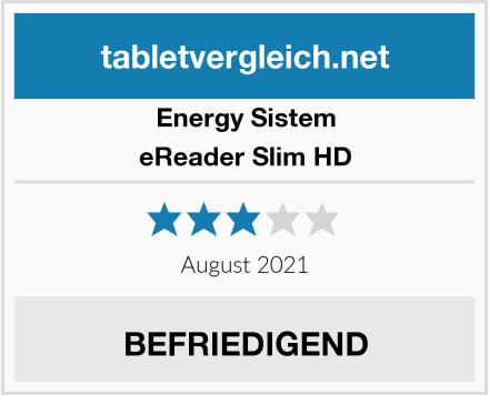 Energy Sistem eReader Slim HD Test