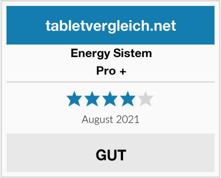 Energy Sistem Pro + Test
