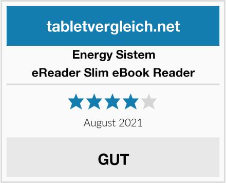 Energy Sistem eReader Slim eBook Reader Test